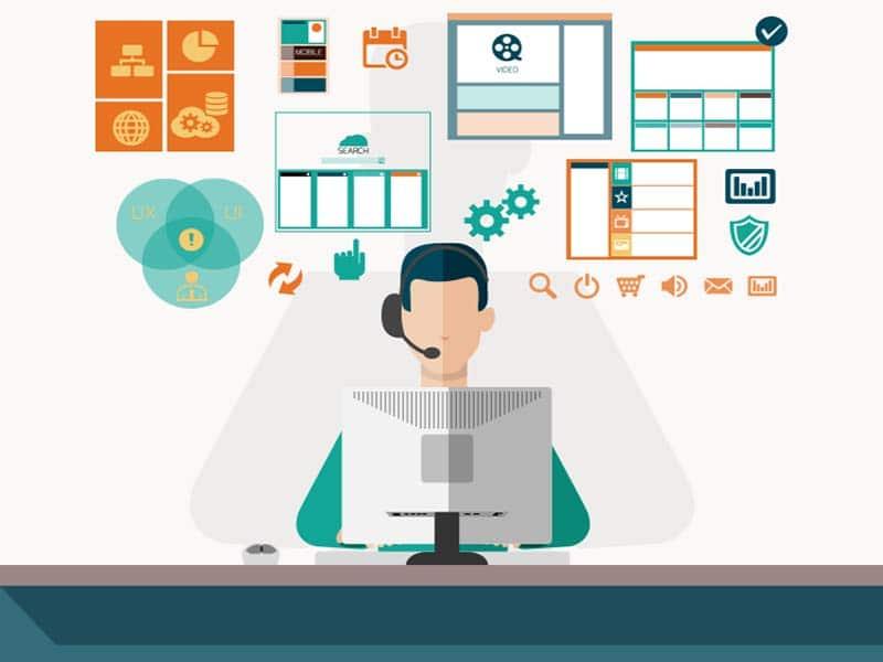 درخواست خدمات helpdesk