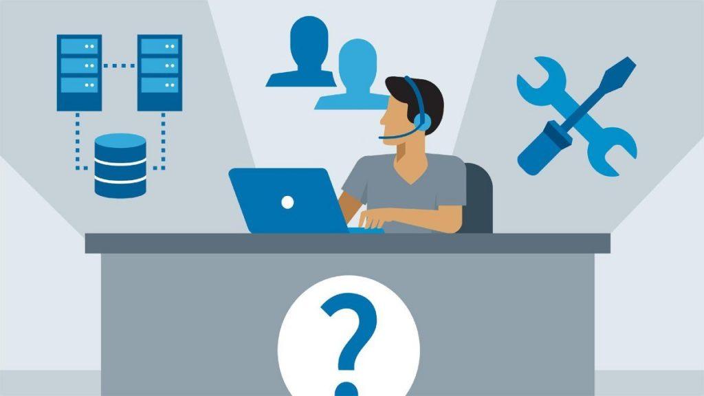 درخواست خدمات هلپ دسک helpdesk