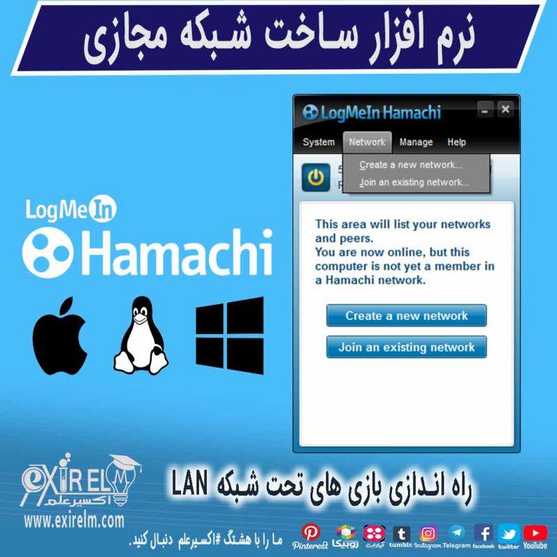 برنامه هاماچی -hamachi
