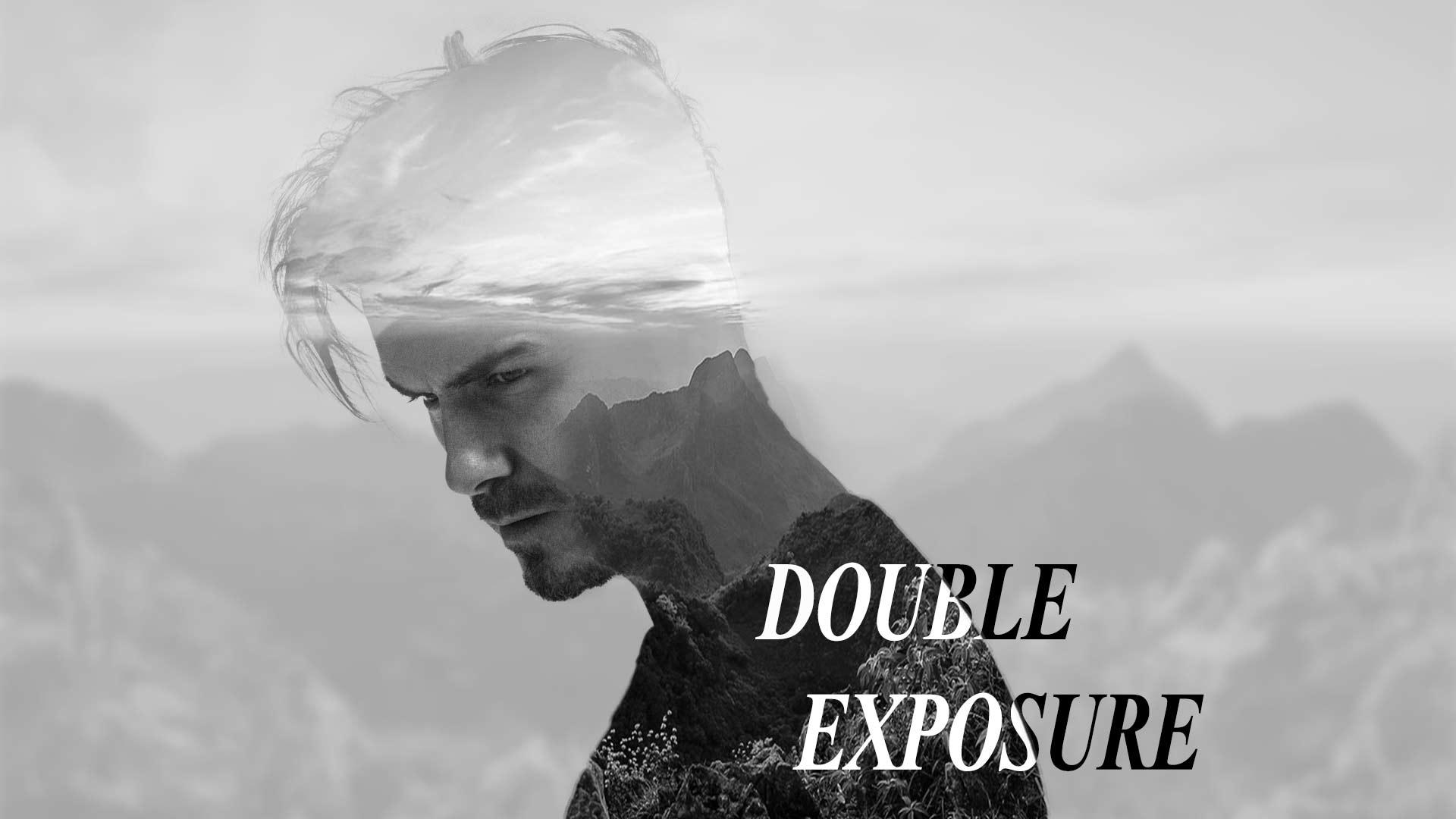 نمونه تصویر ساخته شده از Double Exposure