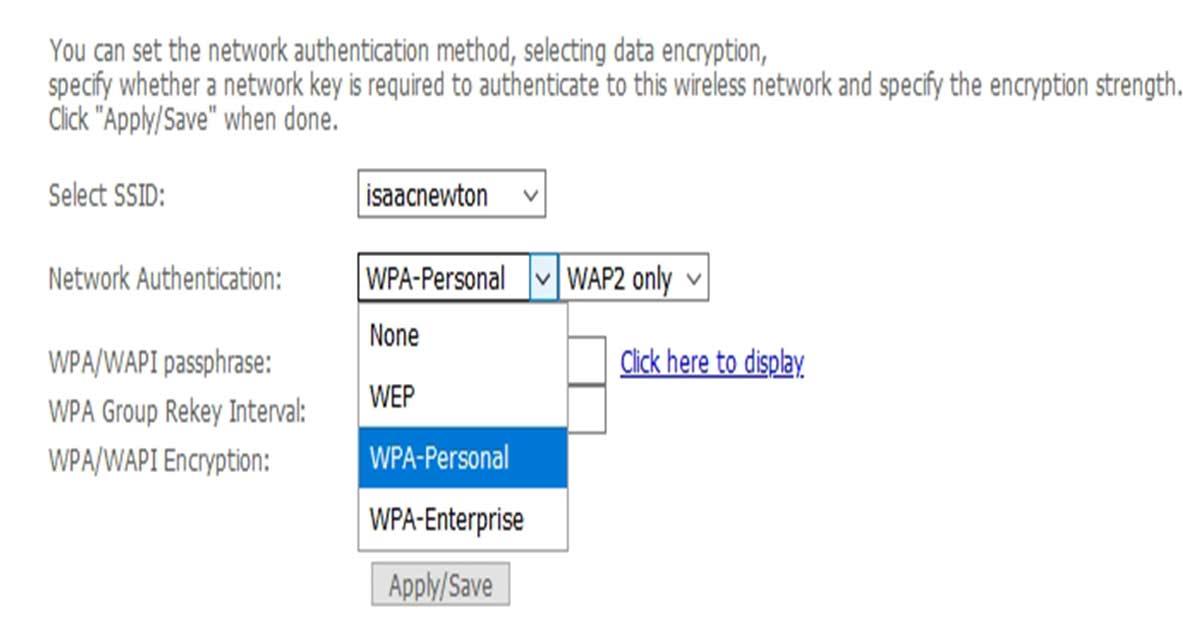 WPA-Personal - رمزنگاری wifi