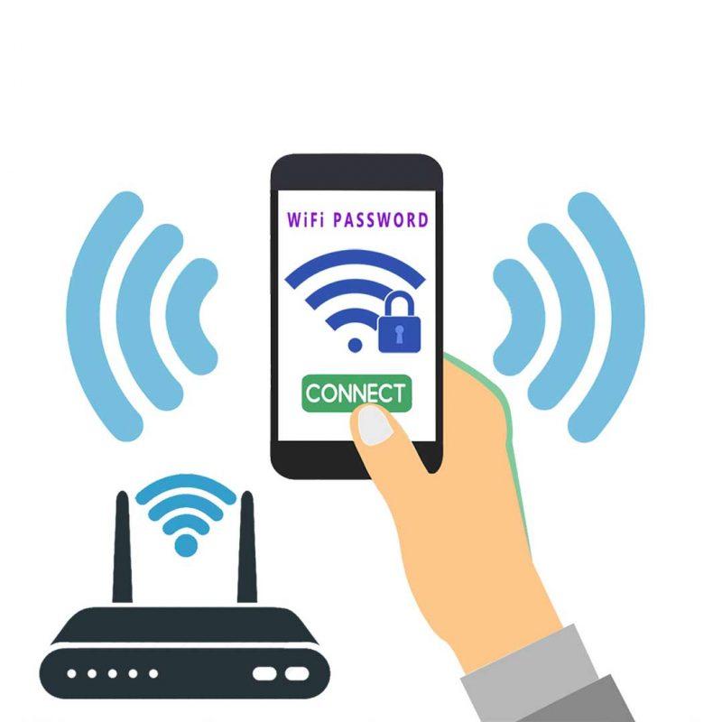 اتصال وای فای موبایل به مودم ADSL
