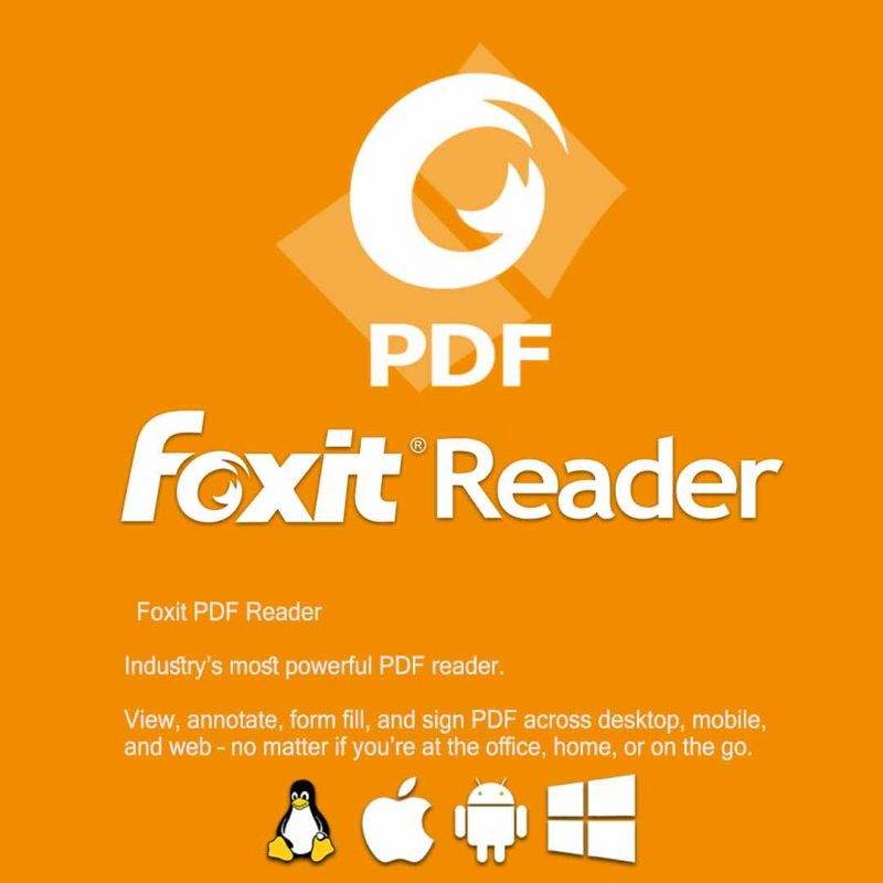 اجرا اسناد PDF با فوکسیت ریدر